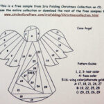 54003 Free Iris Folding Templates   Wiring Resources Pertaining To Iris Folding Christmas Cards Templates