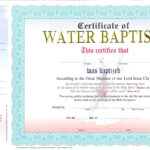Baptism Certificate Template – Harryatkins In Christian Baptism Certificate Template