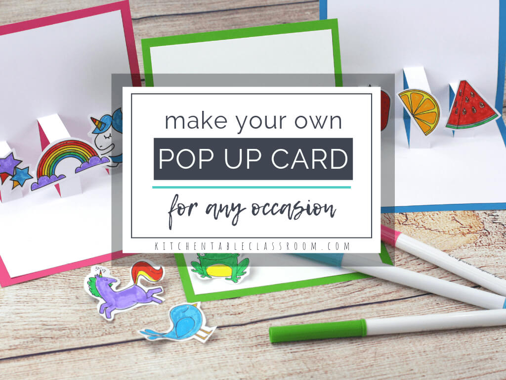 Build Your Own 3D Card With Free Pop Up Card Templates - The For Templates For Pop Up Cards Free