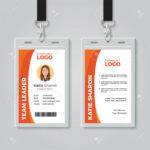 Company Id Card Templates – Papele.alimentacionsegura Pertaining To Work Id Card Template