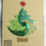 Идейник: Новогодние Открытки. Ч 4. Iris Folding. Обсуждение Regarding Iris Folding Christmas Cards Templates