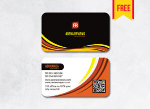 Elegant Business Card Template Free   Free Download within Download Visiting Card Templates