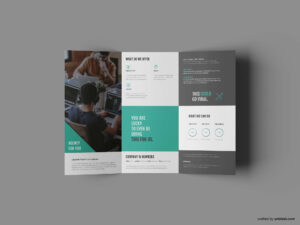 Free Business Trifold Brochure Template (Ai) pertaining to Tri Fold Brochure Template Illustrator Free