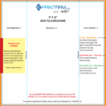 Gate Fold Brochure Template – 6 Free Templates In Pdf, Word Within 6 Panel Brochure Template