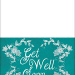 Get Well Soon Card Template   Free Printable Papercraft within Get Well Soon Card Template