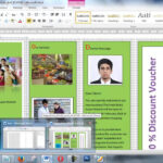 How To Create Brochure Using Microsoft Word Within Few Minutes With Brochure Template On Microsoft Word