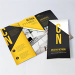 Tri Fold Brochure Printing – Free Print Templates And Design In 6 Panel Brochure Template